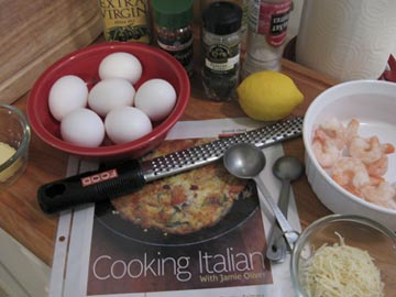 Frittata-ingredients