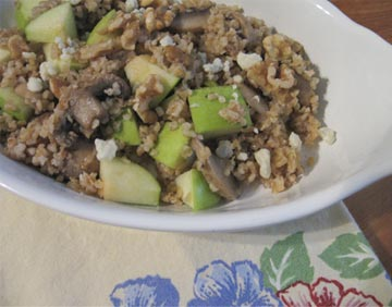 Bulgar-with-mushrooms