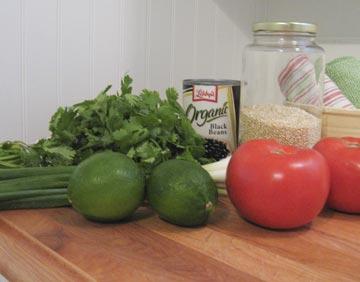 Quinoa-ingredients