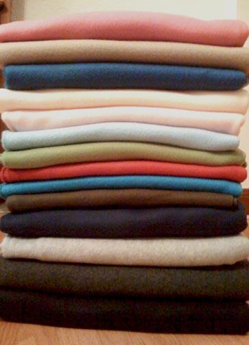 Pile-of-fleece