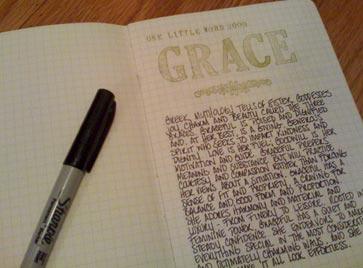 Grace-moleskin