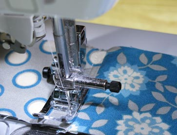 Topstitching-patchwork-in-progress