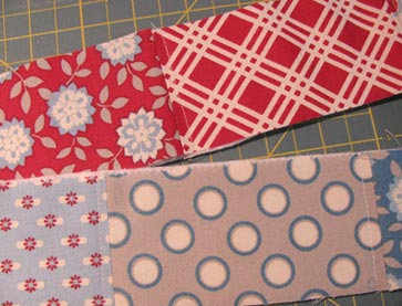 Top-stitching-patchwork