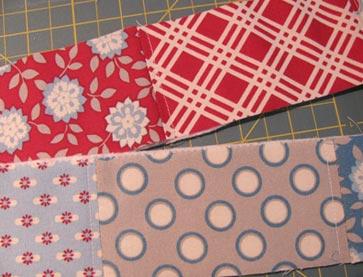 Top-stitching-patchwork