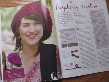 Raspberry-beret